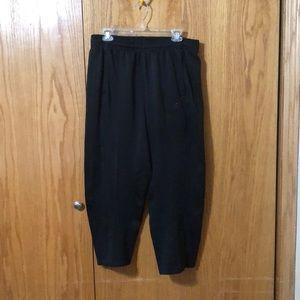 Adidas all black sweatpants